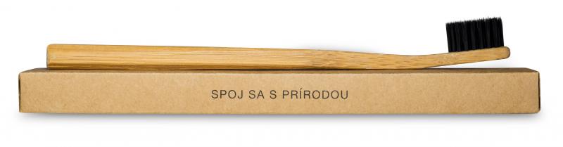 Bambusová zubná kefka Bambooska